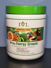 Original Flavor - IVL All Day Energy Greens Hi-Octane Drink - New! Exp 3/2022