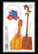 6Cuba  Sc#5186  MONGOLIAN DIPLOMACY music instruments  2010  MNH