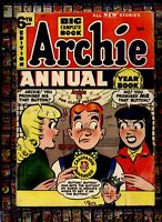 Archie Annual comic #6 Golden age Archie 4 President  BETTY & VERONICA  100pgs