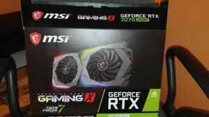 MSI G207S-GX GeForce RTX 2070 Pci-e X16 Super Gaming X Graphics Card