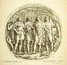 La chasse au Lion Hunting Hunt Arc de Constantin scl XVII François Perrier 1645
