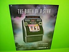Rowe Ami LaserStar StarLight 1997 Phonograph Jukebox Music Promo Sales Flyer