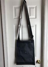 Yak Pak Vintage NEW Black Canvas Bag Shoulder Crossbody LongTote -NWOT