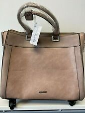 SIMPLY NOELLE ROLLER BAG WITH LAPTOP BAG  TRUFFLE BRAND NEW HB2093