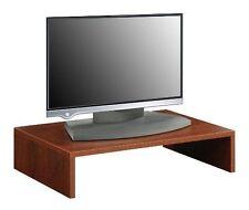 Monitor Computer LED TV Stand Riser Shelf Desktop Entertainment Center Storage