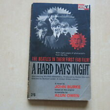 More details for the beatles a hard day's night - 1965 pan books paperback book