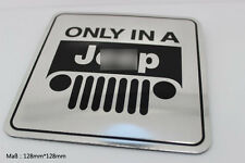 D341 for Jeep Auto 3D Emblem emblème Badge Aufkleber PKW KFZ emblema Car Sticker