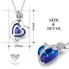 Colliers et pendentifs fantaisie bleus en perle