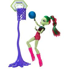 MONSTER High Bambola VENUS Sports casketball NUOVO SENZA BOX NEW NO BOX