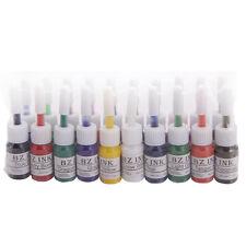 New 20Pcs Color Tattoo Inks Set 0.2oz 5ML Pigment Kit for Body Art
