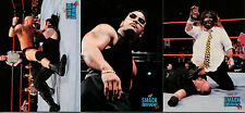 WRESTLING WWF SMACKDOWN 1999 COMIC IMAGES COMPLETE PROMO CARD SET P1 TO P3