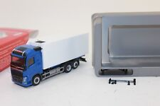 Herpa 307079 Volvo FH gl. Reefer Truck Blue White H0 1:87 NEW ORIGINAL PACKAGING
