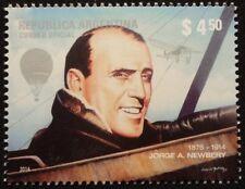 ARGENTINIEN - 100. Todestag des Luftfahrtpioniers J.Newbery  2014**     !TOP!