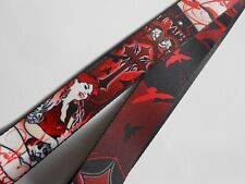 """Levys Lady Vampire 2"""" Acoustic Electric Adjustable Guitar Strap - Brand New"""