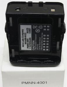 """NICAD LADY CO PMNN4001 4 MOTOROLA GP68 SHORT 2.5""""TALL  7.5V US SELLER"""