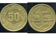 ALGERIE ALGERIA 50 centimes 1975 ( ca )