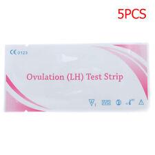 5Pcs/Set Fertility Ovulation (L H) Test Strips Early Urine Testing Paper