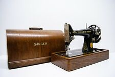 !!! ANTIQUE SINGER 99K Hand Crank 1928 SEWING MACHINE FULLY SERVICED !!!