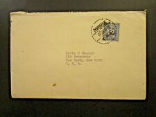 China 1936 25c Sen on Cover to USA - Z5771