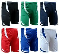 ACCLAIM Fitness Chile Mens Football Shorts Polyester Tie Elasticated Seconds