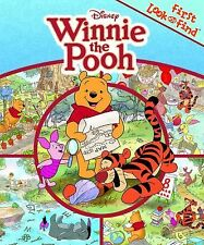 2011 First Look and Find Disney Winnie the Pooh Padded Hardcover