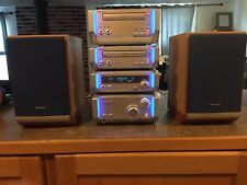 Technics Micro Component System SC-HD505 4 Components Speakers CD TAPE RS/RL/SE