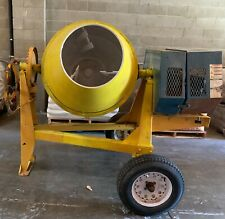 Cement Mixer 9 Cu Ft Honda Motor Used Good Condition