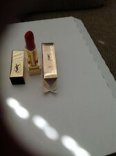 YSL YVES SAINT LAURENT LIPSTICK ROUGE PUR COUTURE THE MATS # 202 ROSE CRAZY NIB