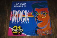 """RADIO 21 """"Les Vieux Machins"""" ROCK-POP COMPILATION LP VINYL (1987)"""
