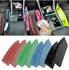 Universal Car Seat Slit Pocket Phone Holder Organizer Green Seam Storage Box