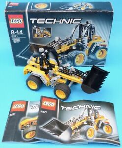 LEGO 8271 - Wheel Loader / Grader - TECHNIC / Construction - 2007 - complete