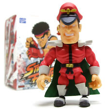 """Loyal Subjects STREET FIGHTER Action Vinyls M. BISON 3"""" Figure Opened Blind Box"""