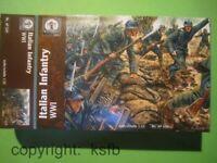 1/32 Waterloo1815 #029 WKI Italien Soldaten im 1. Weltkrieg Italian Soldiers