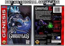 Gargoyles - Sega Genesis Custom Case *NO GAME*
