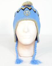 NBA Denver Nuggets Blue Knit Peruvian Winter Hat Adult One Size NWT