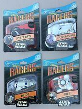 4 Disney RACERS (Star Wars/Force Awakens)R2-D2, BB-8, SNOWTROOPER & KYLO REN New