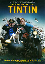 The Adventures of Tintin (DVD, 2012, Includes Digital Copy UltraViolet)