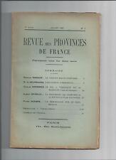 revue des provinces de France Pyrénées Pays Basque folklore Gascogne