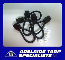 Ford Style Tonneau/Ute Loops 60mm (GST Inclusive) Pkt 5