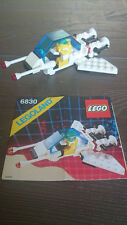 Lego Vintage Classic Space6830 Space Patroller W/ Minifigs & Instruction
