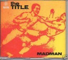 (206B) The Title, Madman - new CD
