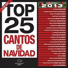 Top 25 Cantos de Navidad CD