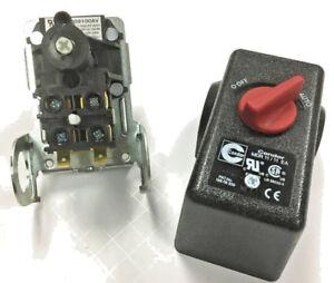 CW209100AV CAMPBELL HAUSFELD PRESSURE SWITCH 100-125 PSI 4 PORT 26 AMPS 120/240V
