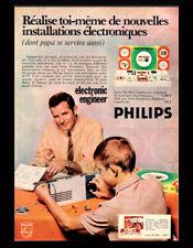 PUB / PUBLICITE / AD  PHILIPS Jouet Electronic Engineer  Vintage 1968