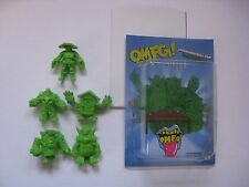 OMFG Little Rubber Guys Green Edition Series 1 w/ Original Packaging and Poster