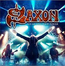 SAXON - LET ME FEEL YOUR POWER   BLU-RAY+CD NEU