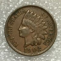 1902 USA 🇺🇸 Indian Head Cent Coin, Free Combined Shipping