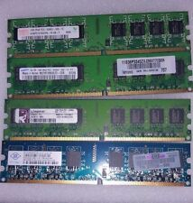 DESKTOP PC RAM MEMORY 4GB = 4X 1GB 2RX8 PC2-5300U DDR2-667 16CHIPS NON-ECC