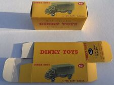 High Quality Reproduction Dinky Military Boxes - 621 3-Ton Army Wagon