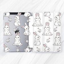 Cute Rabbits Birds Love Animals Case For iPad 10.2 Air 3 Pro 9.7 10.5 12.9 Mini